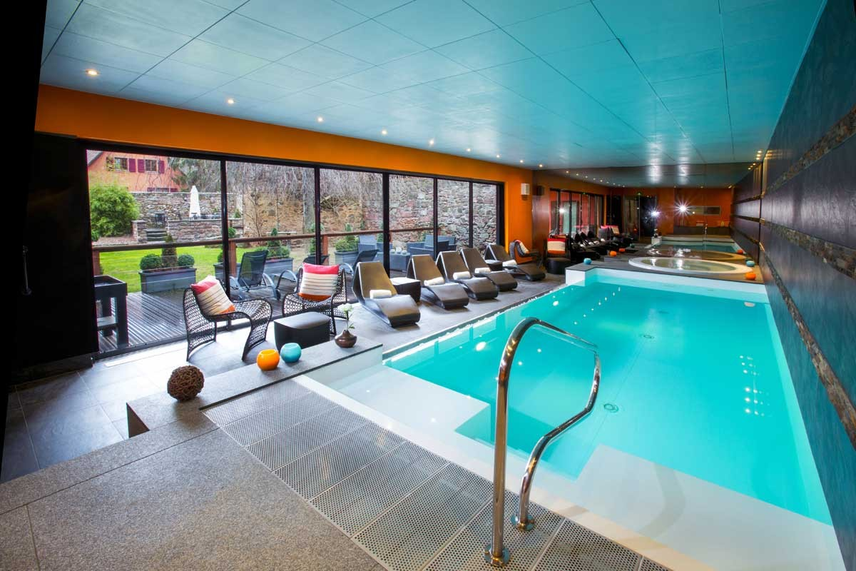 Hotel le chambard kaysersberg colmar alsace for Hotel eguisheim avec piscine