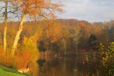 Abbaye des Vaux de Cernay - Vue Lac