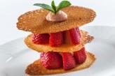 Chateau de la Barge - Dessert aux fraises