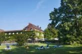 Chateau de la Barge - Facade et jardin de l'hôtel