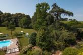 Chateau de la Barge - Jardin et piscine