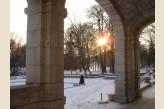 Château d'Augerville Golf & Spa - sous la neige