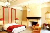 Château d'Augerville Golf & Spa - chambre deluxe rouge