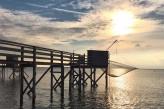 Grand hôtel des bains à Fouras – carrelets plage sud de Fouras