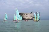 Grand hôtel des bains à Fouras – Catamarans autour de Fort Boyard