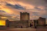 Grand hôtel des bains à Fouras – Fort Vauban au crépuscule
