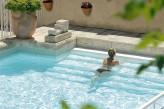 Hostellerie Berard & Spa - Vue Piscine Exterieure