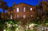 Hostellerie Le Castellas - Vue facade de nuit