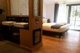 Hôtel ile de Ré - Chambre Luxe vue chambre et salle de bain