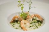 Hôtel ile de Ré - Restaurant Plaisir Plat Crevettes