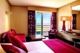 Hotel Spa du Bery St Brevin - Chambre Supérieure Vue Mer couleur framboise