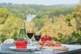 Hôtel l'Yeuse & Spa - Terrasse déjeuner