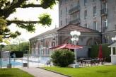 Hôtel Club Cosmos et Spa - Facade et piscine