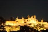 Hôtel Les Trois Couronnes - Cité Médiévale de Carcassonne vue de nuit