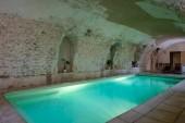 Domaine de la Courbe  piscine intérieure