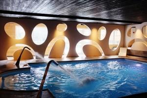 Hôtel la Jamagne & Spa - Piscine cols de cygne