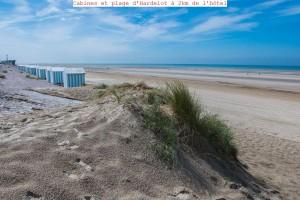 Hôtel du Parc à Hardelot - Cabines et plage à 2km de l hôtel