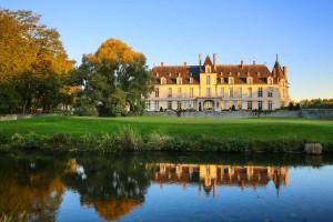 Château d'Augerville Golf & Spa - vignette façade du chateau