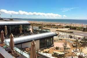 Hôtel Spa du Béryl - Vue Extérieure Terrasse