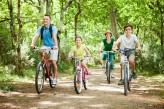 Hôtel le Roi Arthur - Famille à vélo