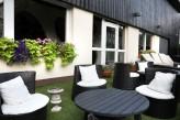 Hôtel la Jamagne & Spa - Salon jardin extérieur
