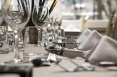 Hôtel la Jamagne & Spa - Gros plan sur table