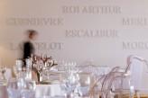 Hôtel le Roi Arthur - Restaurant détail décoration