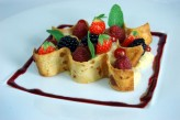 Hôtel la Jamagne & Spa - Dessert aux fruits