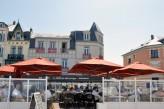 Hôtel Bellevue Beaurivage - Terrasse vue mer