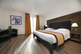 Hôtel la Jamagne & Spa - Chambre Supérieure beige avec parquet