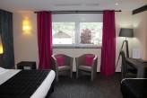 Hôtel la Jamagne & Spa - Chambre Supérieure gris rose