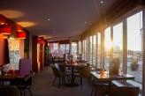 Hôtel Bellevue Beaurivage - Salle restaurant terrasse vue extérieur
