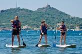 Hôtel Valescure Golf & Spa - Paddle cap Dramont et Sémaphore au fond -10km de l'hôtel ©G.Roumestan