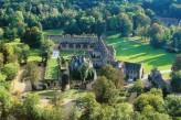 Abbaye des Vaux de Cernay - Vue Aérienne