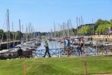 Vannes Balade à pied sur le port de plaisance à 50 km de l'hôtel le Roi Arthur @Loic-KERSUZAN