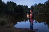 Forêt de Brocéliande : Balade guidée et contée à la tombée de la nuit avec la Conteuse le moulin à histoire à 15km de l'hôtel le Roi Arthur @BERTHIER-Emmanuel