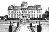 Château d'Artigny & Spa - Dessin façade