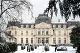 Château d'Artigny & Spa - Façade hiver neige