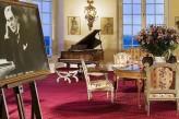 Château d'Artigny & Spa - Salon piano