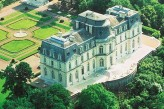 Château d'Artigny & Spa - Vue aérienne du Château et du parc