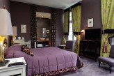Château de Fère - Chambre Deluxe Déco Violet