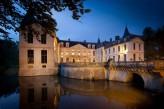 Château d'Ermenonville - Vue Extérieure de Nuit