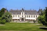 Château d'Augerville Golf & Spa - façade face au golf