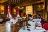 Château d'Augerville Golf & Spa - salle du restaurant Jacques Coeur