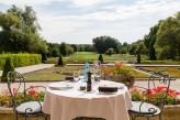 Château d'Augerville Golf & Spa - table déjeuner extérieur