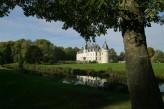 Château d'Augerville Golf & Spa - vue coté par du château