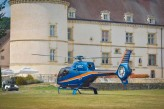 Château de Chailly - Hélicoptère