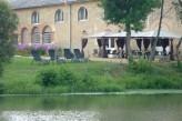 Domaine de la Courbe - déjeuner en extérieur