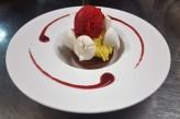 Domaine de la Courbe - dessert citron yuzu