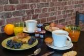 Domaine de la Courbe - petit déjeuner